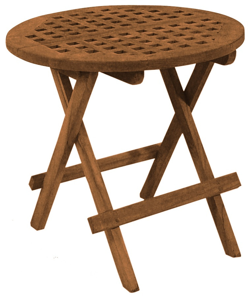 SeaTeak Round Deck Tables