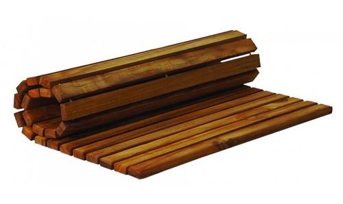 SeaTeak String Mat, Oiled Finish