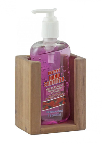 Teak Liquid Soap Holder