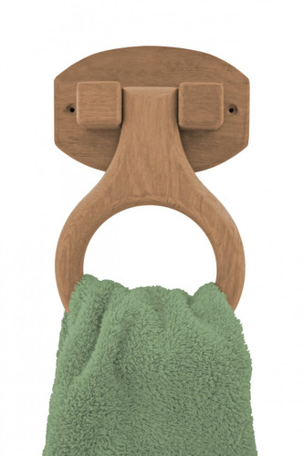 Teak Towel Ring