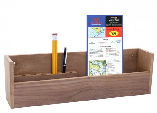 Teak Navigation Rack
