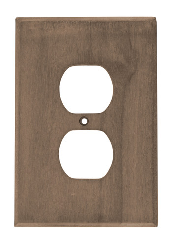 Teak Outlet Cover