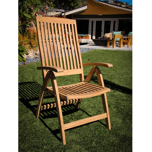 SEATEAK Weatherly Folding Deck Chair