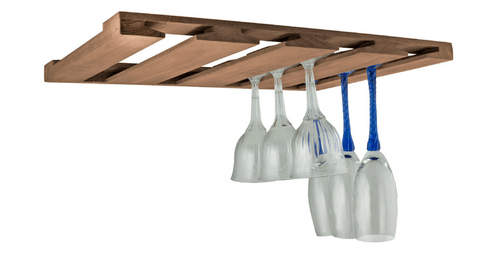 SeaTeak Overhead Wineglass Rack