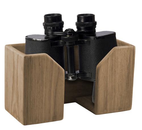 Solid Teak Binocular Rack