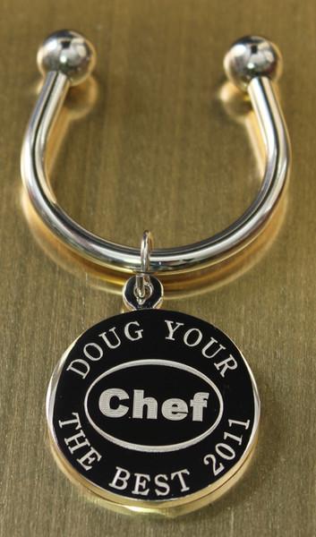 Chef keychain.