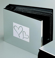 Personalized Double Heart Photo Album at Simply Irresistible