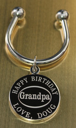 Grandpa Engraved Keychains