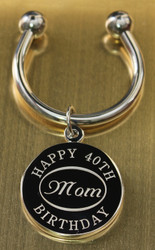 Mom keychain.