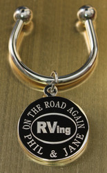 RVing Engraved Keychains