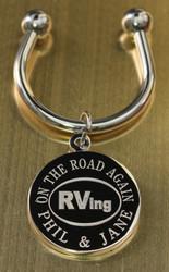 RVing keychain.