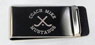 Field Hockey Money Clip