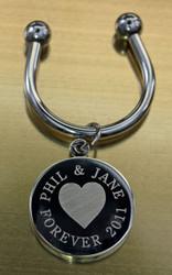 Heart EngravedKeychains