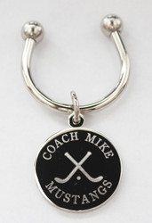 Hockey Engraved Keychains