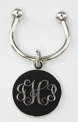 Monogram Engraved Keychains