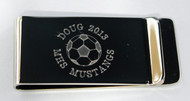 Soccer Ball Money Clip