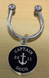 Anchor Engraved Keychains