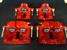 2005-2013; C6; Brake Caliper; RED Powder Coat; Front Rear Full Set