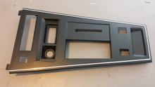 1977-1981; C3; Center Console Shift Trim Plate; PWR Windows, Rear Defrost