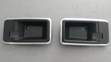 1978-1982; C3; Interior Door Release Handle Bezel; PAIR; NEW