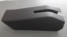 1969-1977; C3; Emergency/ Parking Brake Console Cover; NO Cutouts; Manual Windows