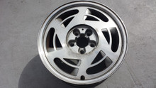 1988-1989; C4; Spun Alum Rear Wheel Rim 17 x 9.5; RH Passenger