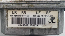 2005-2008; C6; ABS Pump; Electronic Brake Control Module; JL