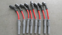 1997-2004; C5; RED Spark Plug Wires; 8 Total; MSD 8.5 mm