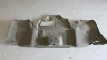 1998-2004; C5; Convertible; Rear Trunk Bumper Carpet; CD; GRAY