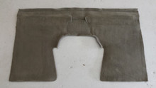 1998-2004; C5; Convertible; Rear Seat Back Riser Carpet; GRAY