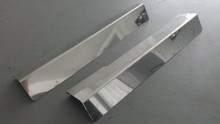 1984-1987; C4; Door Sill Cover Protector; CHROME; PAIR