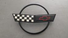 1991-1996; C4; Front Nose Bumper Hood Emblem