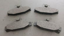 1984-1987; C4; Semi-Metallic Brake Pads; Rear Axle Set: D295
