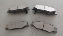1997-2004; C5; Semi-Metallic Brake Pads; Rear Axle Set: D732