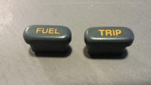 1990-1991; C4; Fuel Trip Reset Buttons