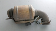 1995-1996; C4; Exhaust Pipe & O2 Sensor; LH Driver