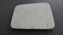 1984-1996; C4; Headlight Door Lid Cover; RH Passenger; WHITE