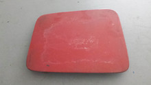 1984-1996; C4; Headlight Door Lid Cover; RH Passenger; RED