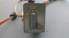 1990-1991; C4; Seat Control Lumbar Switch; LH Driver