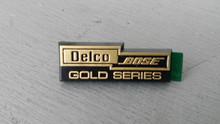 1990-1996; C4; Speaker Emblem; Delco BOSE Gold Series