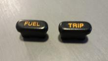 1992-1993; C4; Fuel Trip Reset Buttons