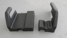 1984-1996; C4; Power Seat Floor Bolt Covers; PAIR