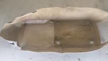2005-2013; C6; Front Floor Carpet; LH Driver; CASHMERE