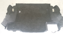 2005-2013; C6; Coupe; Rear Floor Carpet; EBONY
