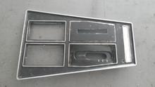 1972-1976; C3; Center Console Shift Trim Plate; Automatic