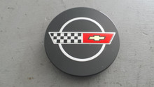 1984-1985; C4; Center Wheel Cap Emblem