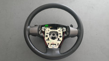 2006-2006; C6; Steering Wheel with Paddles; EBONY
