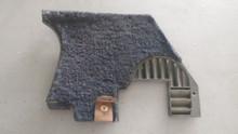 1978-1982; C3; Front Lower Kick Panel Speaker Grille: RH Passenger; BLUE