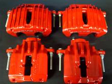 1997-2004; C5; Brake Caliper; RED Powder Coat; Front Rear Full Set