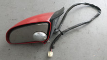 1986-1996; C4; Convertible; Power Side View Door Mirror; LH Driver; RED